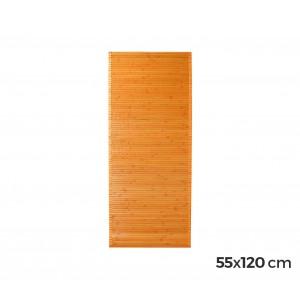 Tappeto in bamboo in legno naturale 120x55cm
