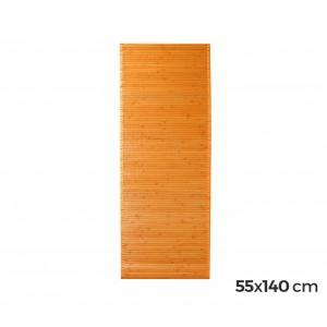 Tappeto in bamboo in legno naturale 140x55cm