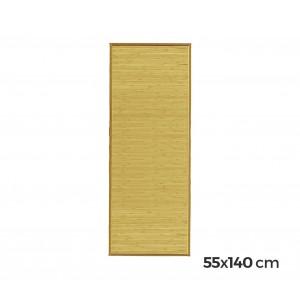 Image of 028502 Tappeto in bamboo in legno naturale 140x55cm stuoia multiuso passatoio 8001545151594