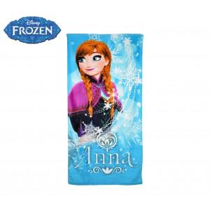 WD16936 Telo mare principessa Anna Frozen 70x140 cm 100% cotone
