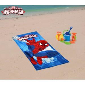 MV15066 Telo mare Spiderman 70x140 cm 100% cotone