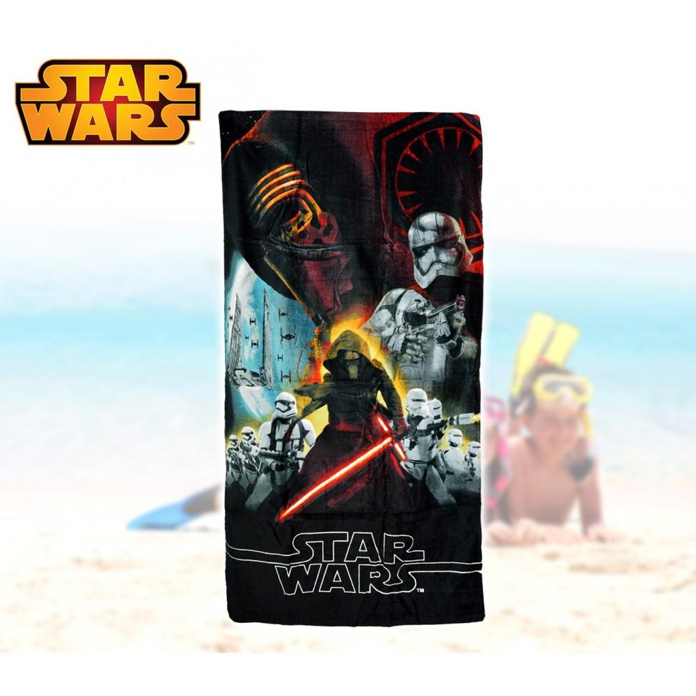 SWE7038 Telo mare Star Wars 70x140 cm 100% cotone asciugamano