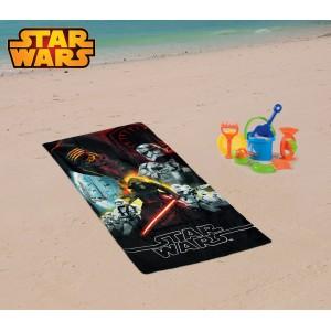 SWE7038 Telo mare Star Wars 70x140 cm 100% cotone