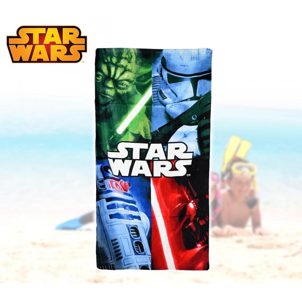 SW14057 Telo mare Star Wars 70x140 cm 100% cotone asciugamano