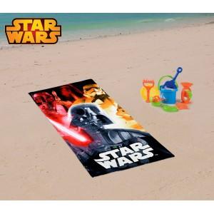 SW14056 Telo mare Star Wars 70x140 cm 100% cotone