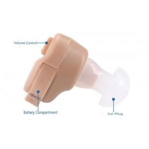 Mini amplificatore sonoro apparecchio acustico invisibile auricolare