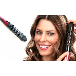 Piastra arriccia capelli nuova tecnologia a Spirale boccoli perfetti