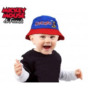 Cappello Mickey Mouse modello pescatore graficamente decorato