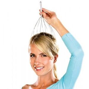 Image of 611990 Massaggiatore testa ragno 12 bracci anti stress relax corpo e  mente 8018383833339