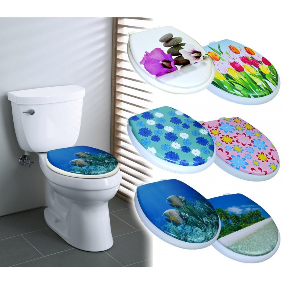 2416 Copri water con sedile universale seduta morbida coprivaso Soft Art