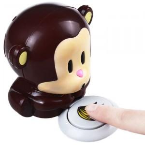 Image of 763189 Mini asciuga smalto per unghie a forma di scimmietta accessori nails 8014445556680