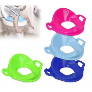 11107 Riduttore per wc bambini ergonomico con schienale alto