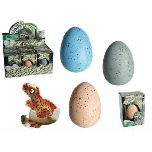 112004 Uova di dinosauro si schiude e cresce giocattoli per bambini Dino in egg