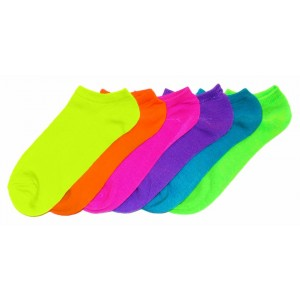 Pack 6 paia di calzini SUMMER FLUO donna