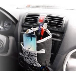 Organizzatore Giannotti porta oggetti auto con gancio 2 tasche e portapenne