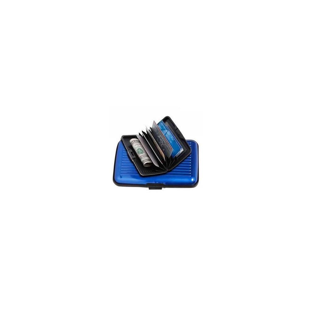 Porta carte di credito aluma alluminio resistente all'acqua