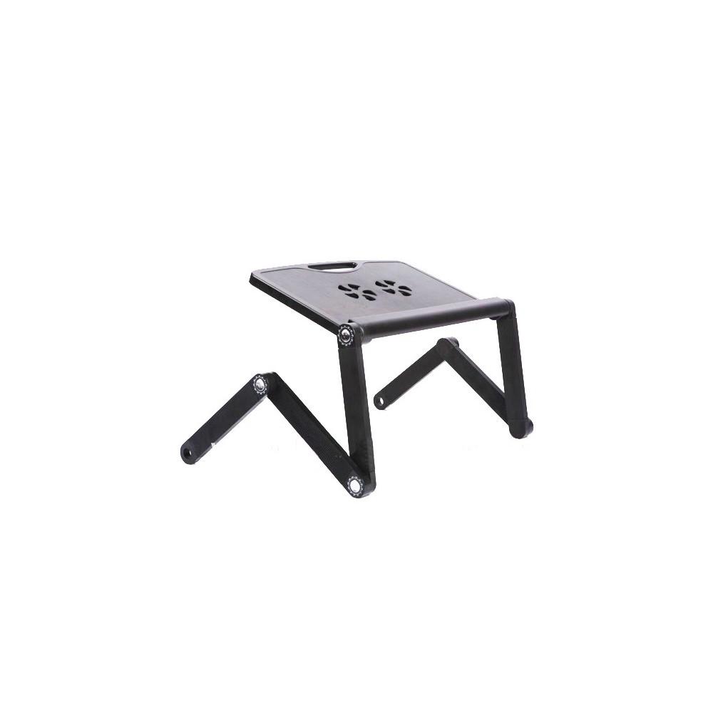 Tavolino Pieghevole Pc.Supporto Tavolino Pieghevole Per Pc Portatile Con Ventola