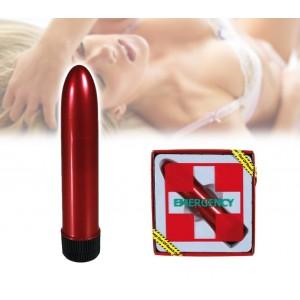 612689 Vibratore d'emergenza in plastica 11,5 x 2,5 cm due velocità