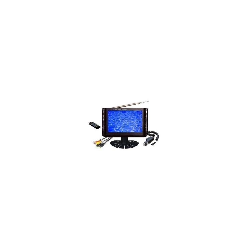 Monitor tv lcd 7'' pollici tv dvb-t usb vga colori tft schermo