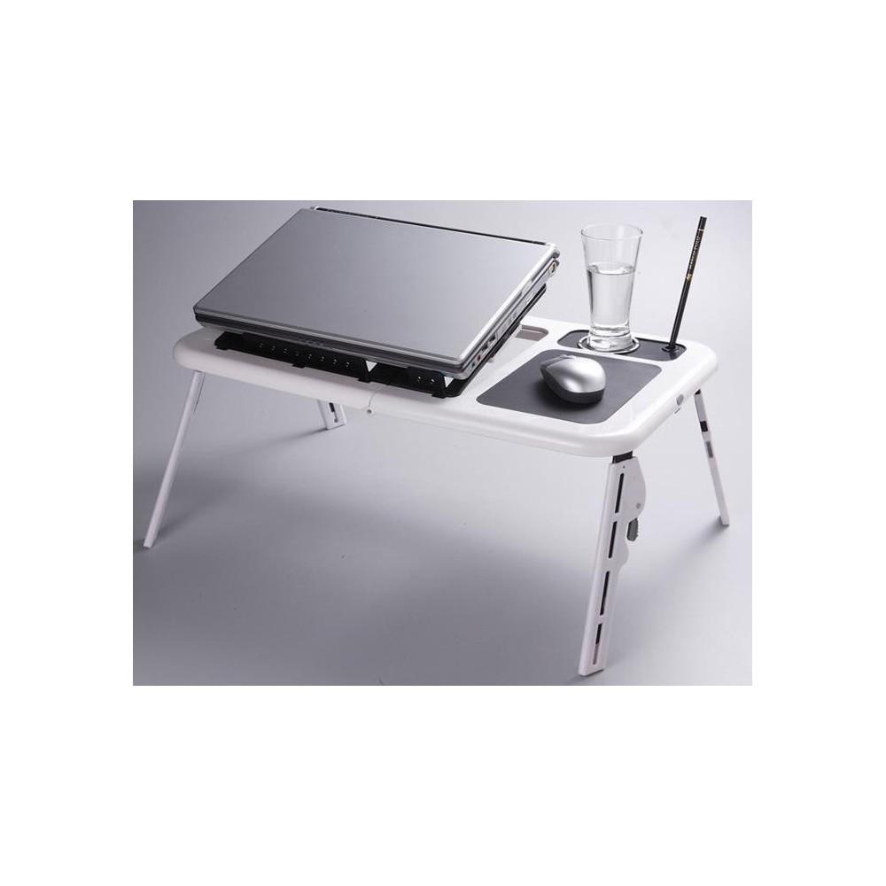 Supporto notebook regolabile modello e-table tavolino pc tavolo