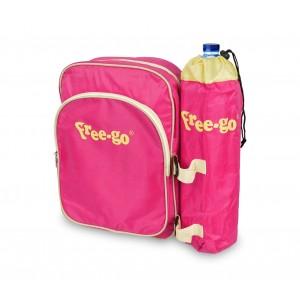 Image of 2502T Zaino termico FREE-GO vari colori con portabottiglia e tasca anteriore 8014741454840