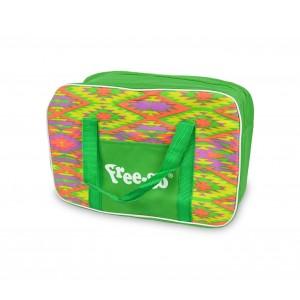 2953AN Borsa termica FREE-GO vari colori fantasia zig-zag 4 litri