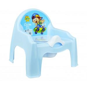 Image of 091103 Vasino per bambini sedia con vasino in plastica 4 colori baby potty 8014415484739