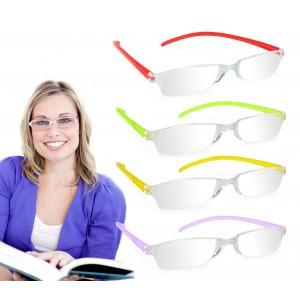 Occhiali da lettura premontati modello Invisible con lenti asferiche