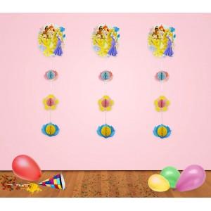 PB952 Festone Principesse Disney decorazione per feste in carta  60 cm