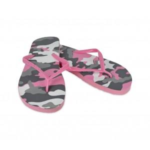 2073 Ciabatte infradito donna fantasia militare 4 colori pantofole mare in gomma
