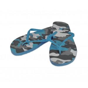 Image of 2073 Ciabatte infradito donna fantasia militare 4 colori pantofole mare in gomma 8014545454336
