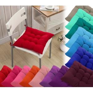 Set 4 cuscini per sedia modello Lorelai 40x40cm vari colori