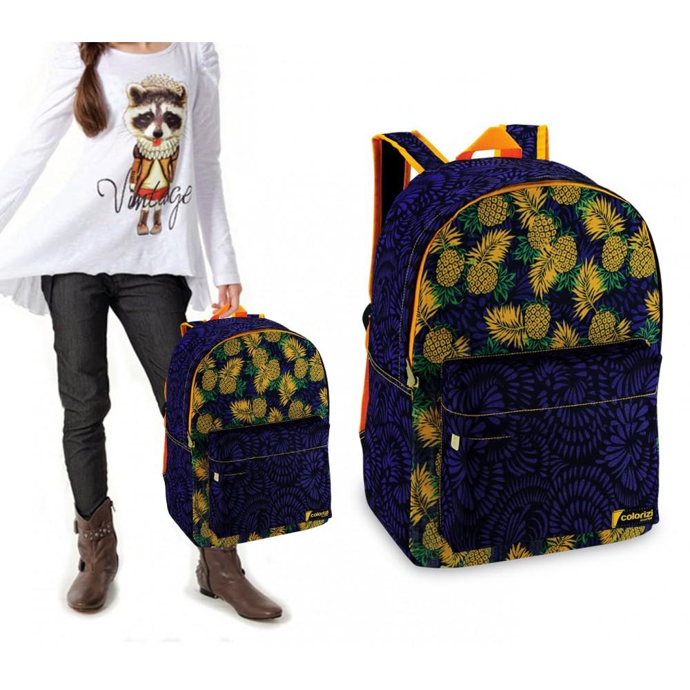 CR2612FU Zaino a spalla modello Fruit tasca frontale 43x33x13 cm