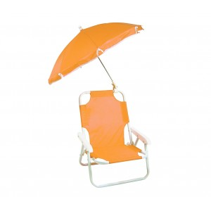 Image of 2576 Sedia pieghevole per bambini con ombrellino protezione raggi uv 8000044785538