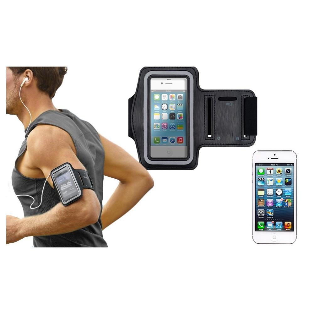 Fascia da braccio sportiva compatibile Iphone 5 5c 5s schermo tattile