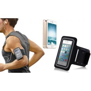Fascia da braccio sportiva per iphone 6 6s schermo tattile