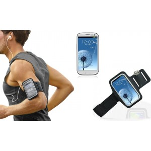 Fascia da braccio sportiva per Samsung S3 schermo tattile