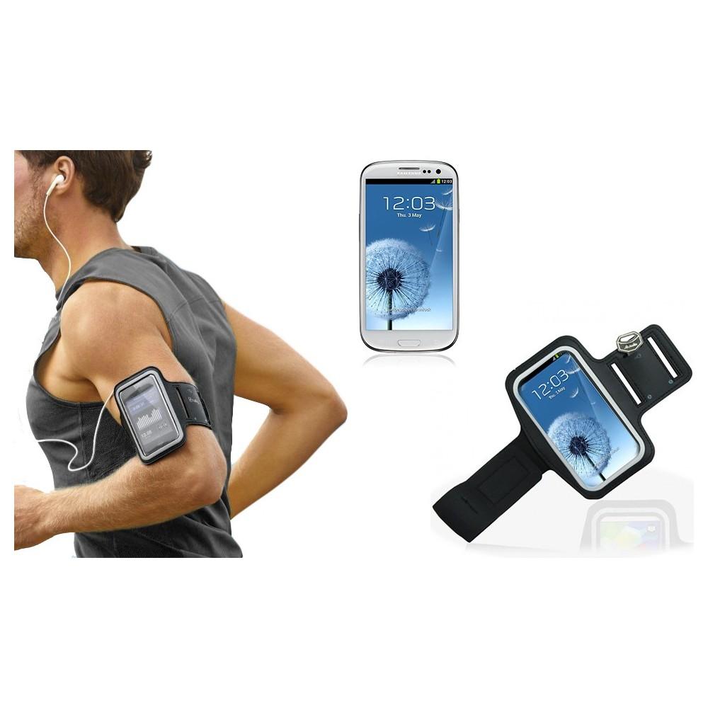 Fascia da braccio sportiva compatibile Samsung Galaxy S3 e S4 schermo tattile