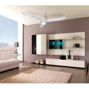VECRD30L Ventilatore da soffitto DCG 3 pale in metallo con luce tre velocità