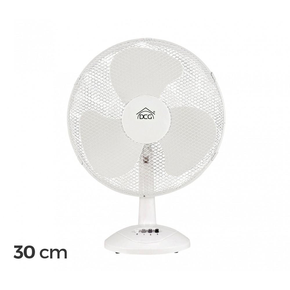 VE9030 Ventilatore DCG 3 pale oscillazione orizzontale 3 velocità diametro 30 cm