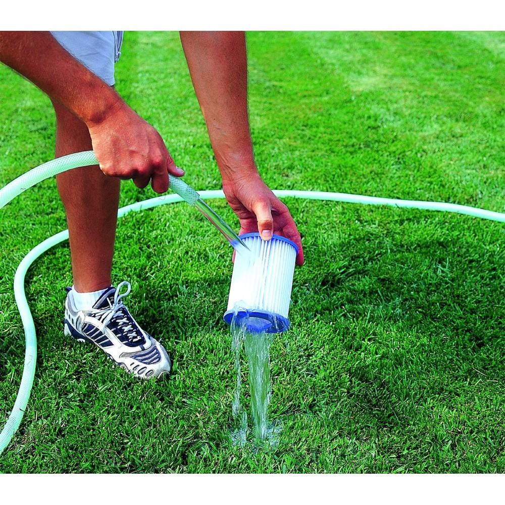 58094 kit 2 filtri di ricambio bestway 2006 3028lt h for Filtri piscina