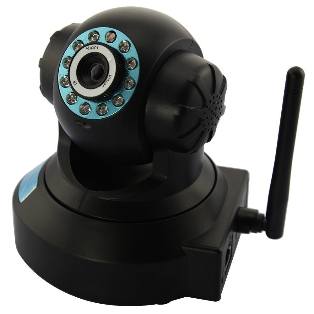 Telecamera Ip 10 led camera wireless infrarosso lan rj45 webcam motorizzata wifi