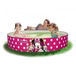91067 Piscina rigida tonda Bestway Minnie Mouse 152 x 25 cm rosa