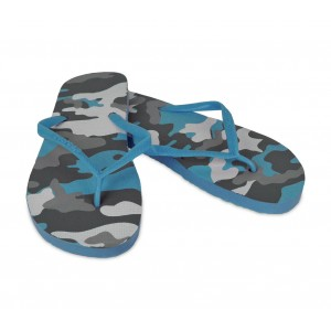 Ciabatte infradito uomo fantasia militare 3 colori pantofole mare in gomma