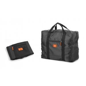 Borsone bagaglio a mano pieghevole impermeabile con supporto da trolley