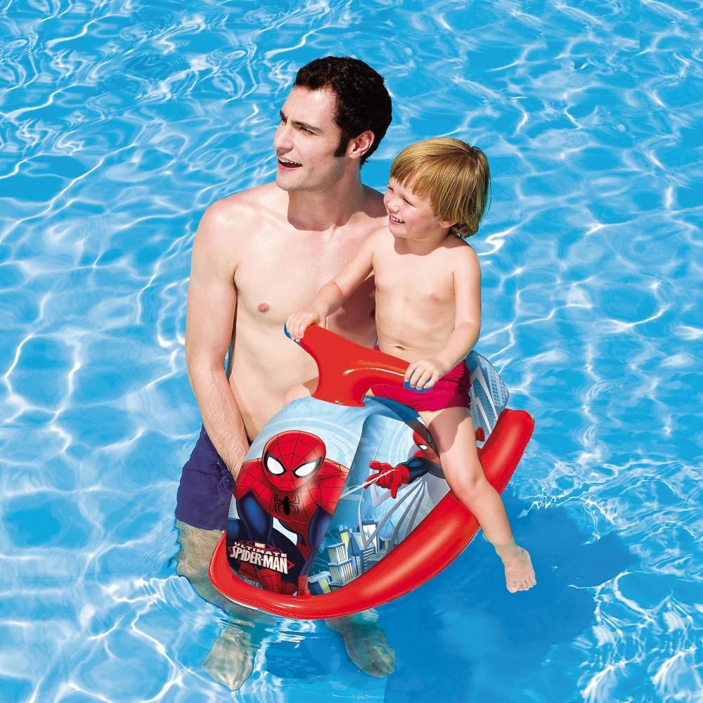98012 Gonfiabile moto d'acqua Spiderman giochi acquatici per bambini Bestway