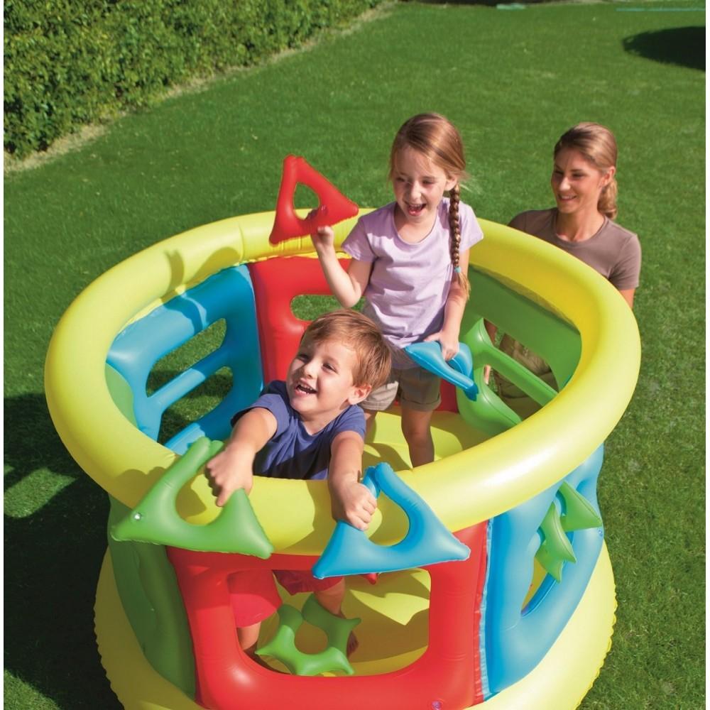52056 Mini parco giochi gonfiabile Bestway Splash and Play 152 x 107 cm