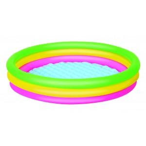51103 Piscina gonfiabile Bestway Cloud 3 anelli 152 x 30 cm
