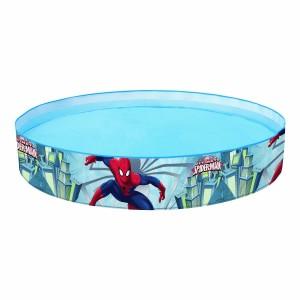 98010 Piscina rigida tonda Bestway Spiderman 152 x 25 cm azzurra