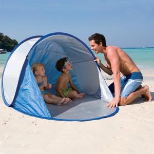 68045 Bestway Secura tenda pop up 2 posti parasole da spiaggia
